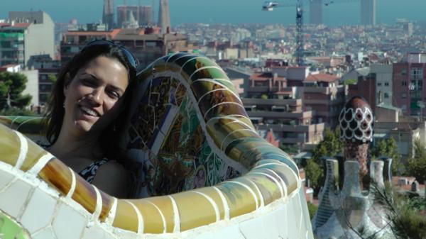 Gaudi et le fameux Park Guëll
