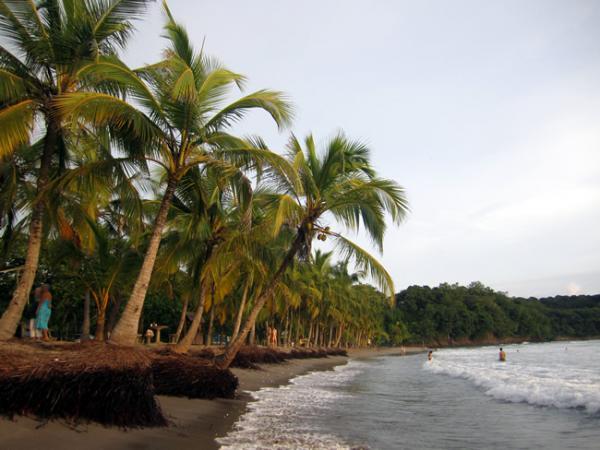 La plage de Estrada