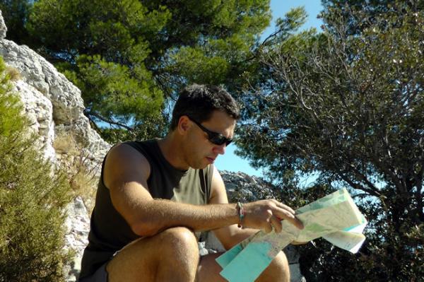 Randonnée dans les Calanques entre Marseilles et Cassis