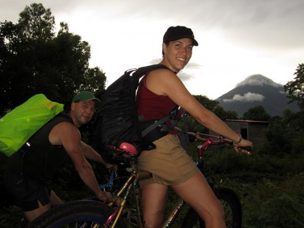 Promenade à vélo sur l'Île de Ometepe