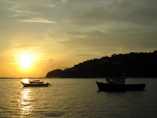 Coucher de soleil à San Juan Del Sur