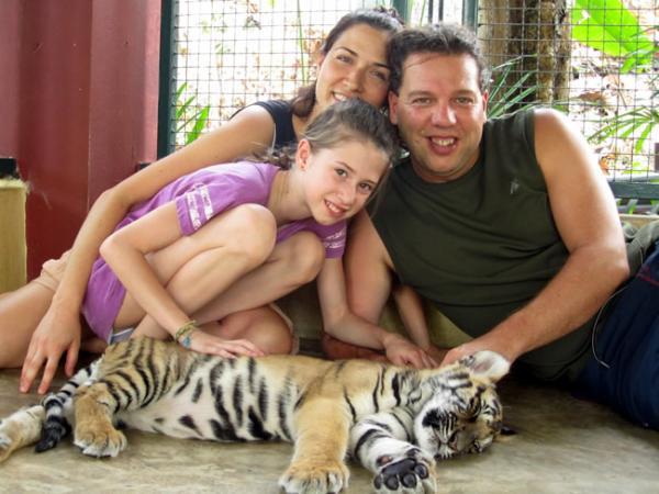 Les bébés tigres de Chiang Maï