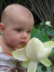 Marianne et fleur de lotus